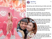 Mina Phạm - vợ 2 đại gia Minh Nhựa lại bị