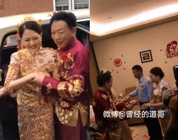 Cô dâu 26 kết hôn với chú rể 62, biểu cảm của mẹ vợ khiến ai cũng ngỡ ngàng-2