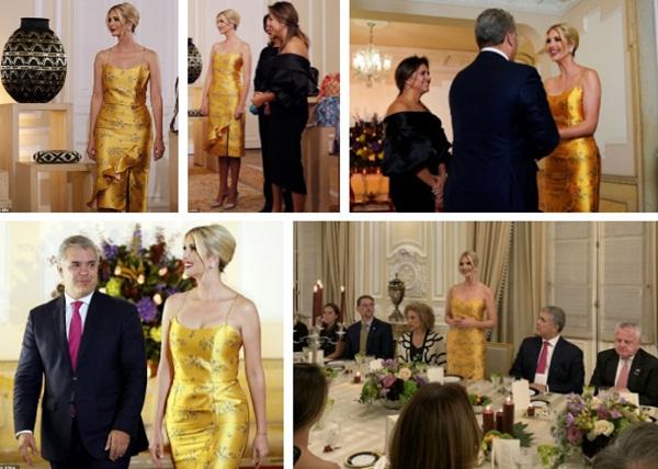 Ivanka Trump ngày một nhuận sắc, gợi cảm trong chiếc váy hai dây sang chảnh, khiến đấng mày râu phải liếc nhìn-2