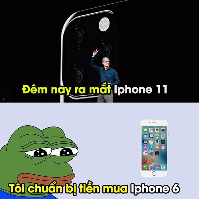 Dân mạng chế ảnh hài hước về loạt iPhone 11 mới ra mắt-10