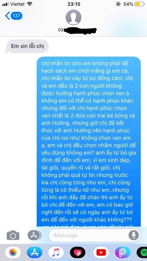 Không đánh ghen ầm ĩ, vợ chỉ gửi 1 tin nhắn cho bồ mà khiến cả nhà chồng nể phục-1
