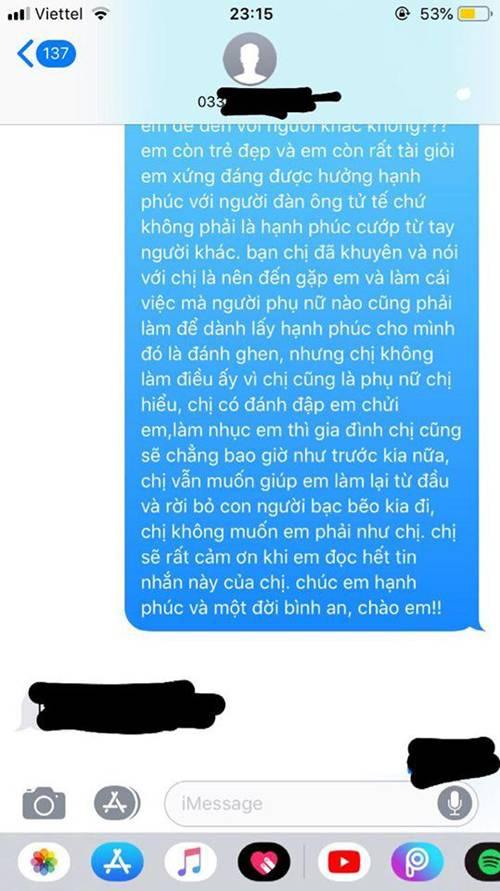 Không đánh ghen ầm ĩ, vợ chỉ gửi 1 tin nhắn cho bồ mà khiến cả nhà chồng nể phục-2