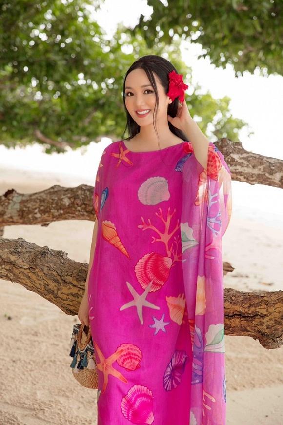 Hoa hậu Đền Hùng Giáng My lại thả dáng gợi cảm trên biển-1