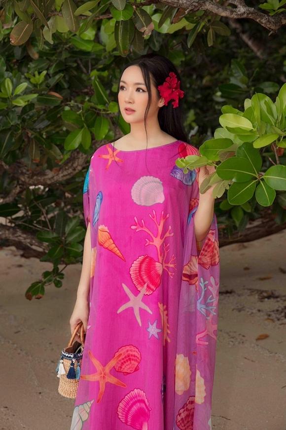 Hoa hậu Đền Hùng Giáng My lại thả dáng gợi cảm trên biển-2