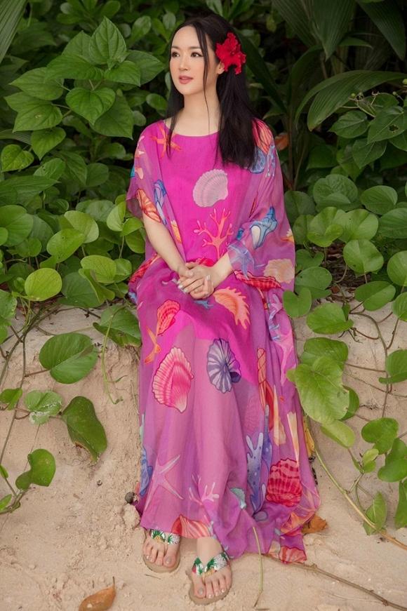 Hoa hậu Đền Hùng Giáng My lại thả dáng gợi cảm trên biển-3