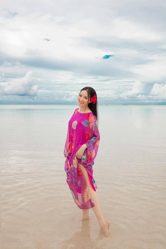 Hoa hậu Đền Hùng Giáng My lại thả dáng gợi cảm trên biển-6