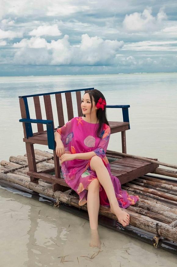 Hoa hậu Đền Hùng Giáng My lại thả dáng gợi cảm trên biển-8