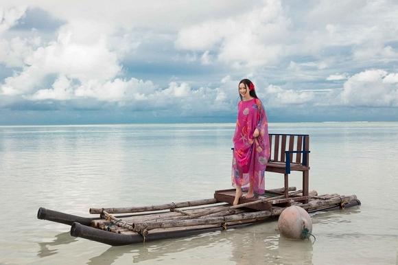 Hoa hậu Đền Hùng Giáng My lại thả dáng gợi cảm trên biển-9