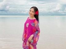 Hoa hậu Đền Hùng Giáng My lại thả dáng gợi cảm trên biển