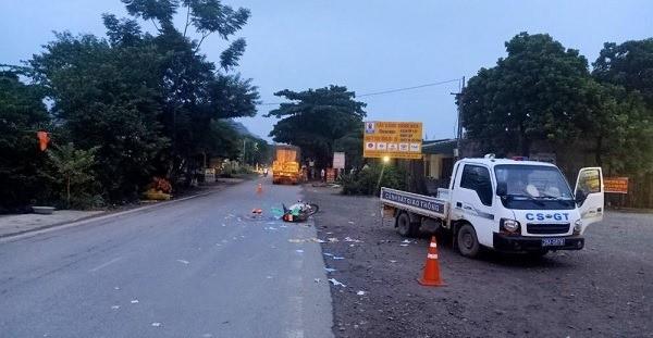 Vụ người phụ nữ mang bầu bị xe tải cán tử vong: Nạn nhân mới làm đám cưới với chồng được 2 ngày-1
