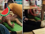 Đi uống trà sữa, cô gái hãi hùng khi phát hiện hành động của thiếu niên đối với bé gái 2 tuổi