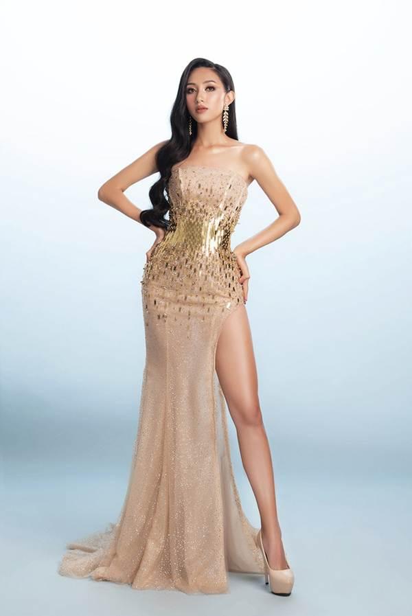 Đại diện Việt Nam tại Miss Asia Pacific khoe ba vòng nóng bỏng với đầm dạ hội-2
