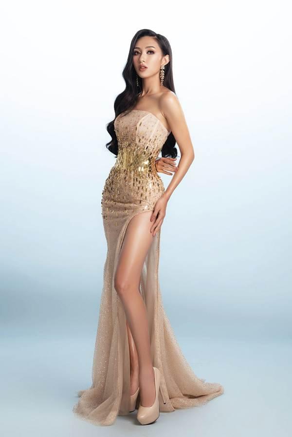 Đại diện Việt Nam tại Miss Asia Pacific khoe ba vòng nóng bỏng với đầm dạ hội-3