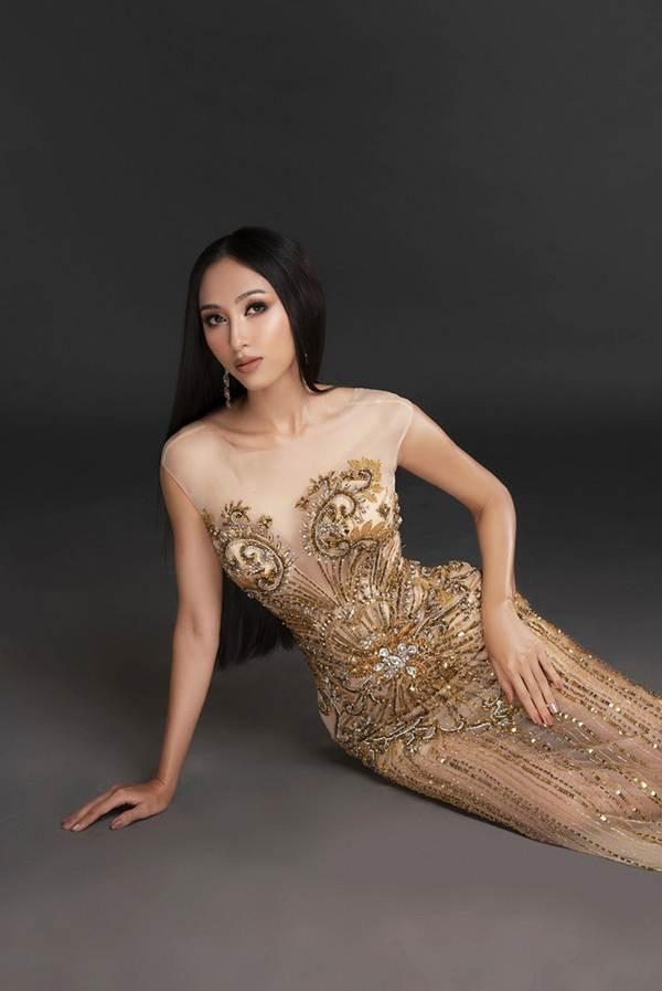 Đại diện Việt Nam tại Miss Asia Pacific khoe ba vòng nóng bỏng với đầm dạ hội-5