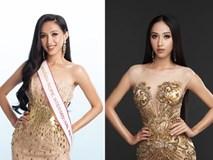 Đại diện Việt Nam tại Miss Asia Pacific khoe ba vòng nóng bỏng với đầm dạ hội