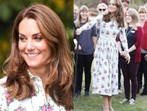 """Công nương Kate đi đôi giày mà Nữ hoàng Anh """"ghét cay ghét đắng"""" nhưng vẫn được dân tình bênh vực vì chăm tiết kiệm"""