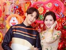 Hari Won dạo phố Trung Thu cùng tài tử Park Jung Min