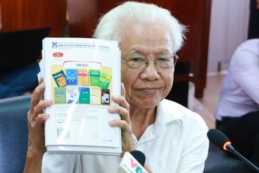 Hơn 900.000 học sinh đang học, tại sao sách tiếng Việt Công nghệ giáo dục không đạt thẩm định?-1