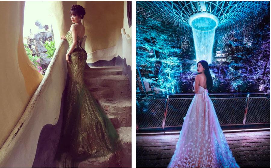 Nhìn loạt ảnh du lịch trước khi biết photoshop của vợ 2 Minh Nhựa, ai cũng phải nể phục đẳng cấp chỉnh ảnh của Mina Phạm-1