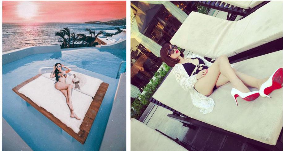 Nhìn loạt ảnh du lịch trước khi biết photoshop của vợ 2 Minh Nhựa, ai cũng phải nể phục đẳng cấp chỉnh ảnh của Mina Phạm-2