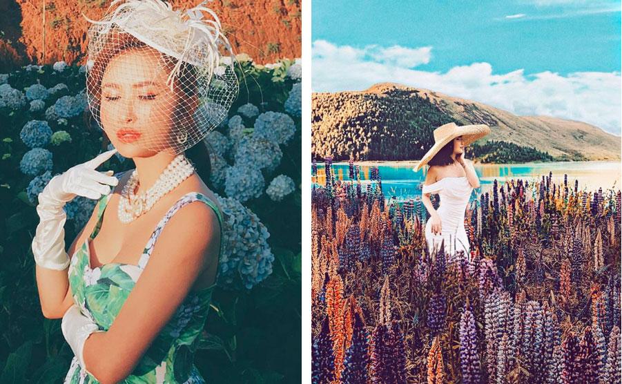Nhìn loạt ảnh du lịch trước khi biết photoshop của vợ 2 Minh Nhựa, ai cũng phải nể phục đẳng cấp chỉnh ảnh của Mina Phạm-3