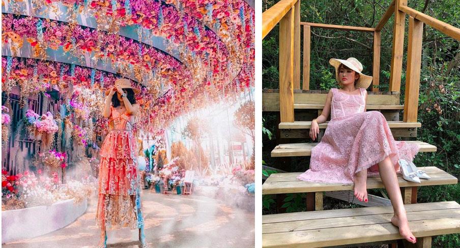 Nhìn loạt ảnh du lịch trước khi biết photoshop của vợ 2 Minh Nhựa, ai cũng phải nể phục đẳng cấp chỉnh ảnh của Mina Phạm-4