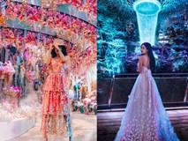Nhìn loạt ảnh du lịch trước khi biết photoshop của vợ 2 Minh Nhựa, ai cũng phải nể phục đẳng cấp chỉnh ảnh của Mina Phạm