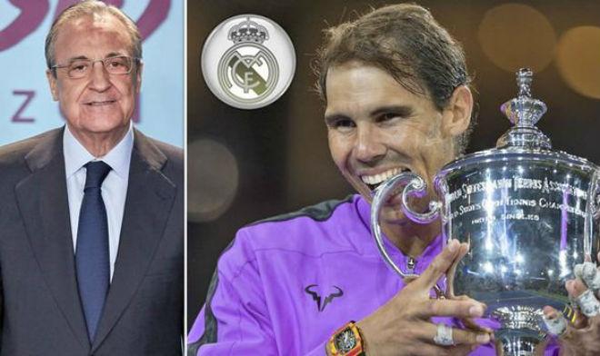 Rung chuyển Real Madrid: Nadal bỏ đấu Federer về kế vị ghế nóng bố già?-1