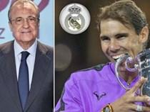 Rung chuyển Real Madrid: Nadal bỏ đấu Federer về kế vị ghế nóng