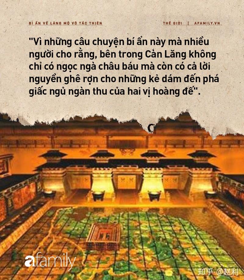Bí ẩn lăng mộ Võ Tắc Thiên: Nơi ẩn giấu hàng triệu báu vật nhưng không ai đào được và lời nguyền rùng rợn cho những kẻ muốn xâm chiếm-5