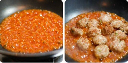 Công thức cho món thịt viên sốt cà chua cực ngon miệng-4