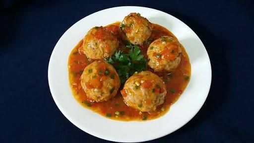 Công thức cho món thịt viên sốt cà chua cực ngon miệng-5