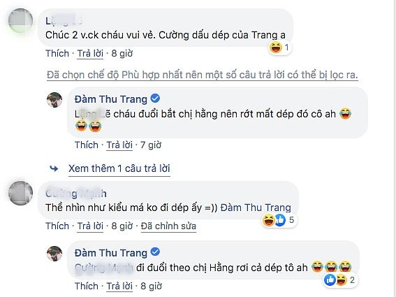 Đàm Thu Trang đi chân đất, nắm tay Cường đô la trên đường phố-2