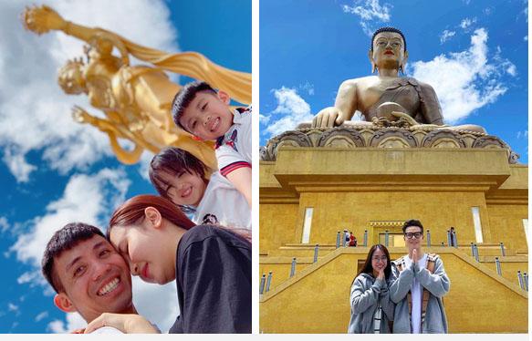 """Đại gia Minh Nhựa và vợ hai đi du lịch suốt ngày, hình chụp cũng chẳng xấu, vậy mà cứ phải mượn"""" ảnh để photoshop làm gì?-16"""