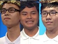 Bốn nam sinh tranh tài tại chung kết Olympia năm thứ 19