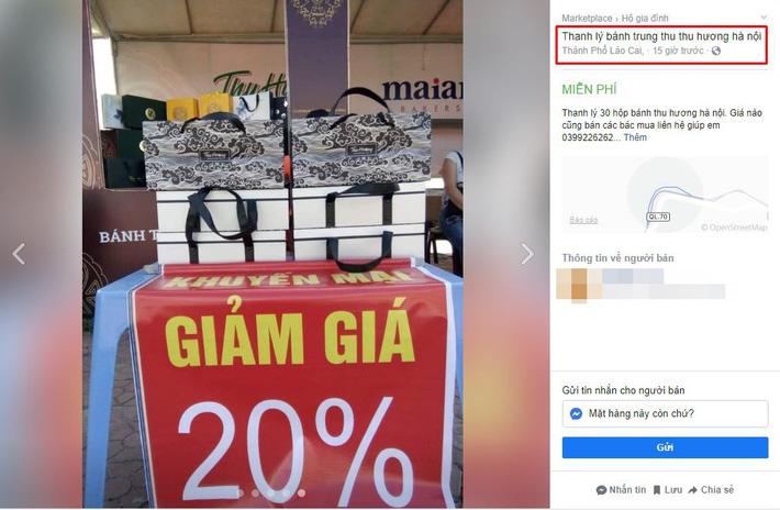 Hà Nội: Hàng loạt quầy bánh Trung thu thà dỡ quầy còn hơn bán hạ giá, hội bán hàng online lại đua nhau thanh lý-8