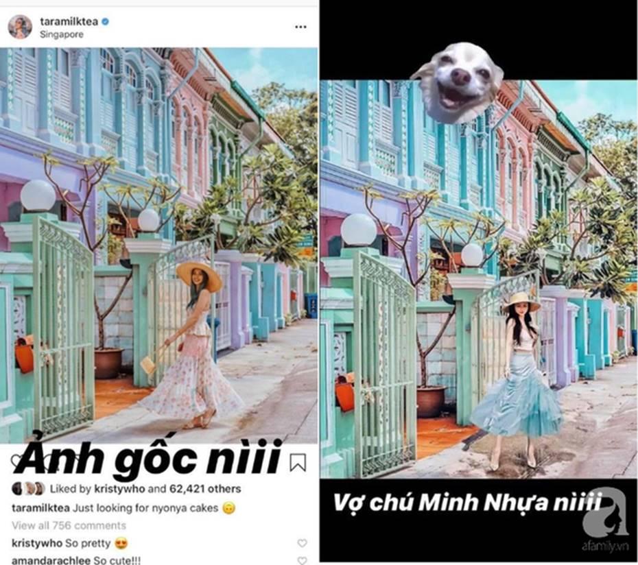 Mina Phạm - vợ 2 đại gia Minh Nhựa đăng story xoáy thẳng vào phốt photoshop ảnh, hỏi ngược: Ảnh ăn cắp đây ư?-3