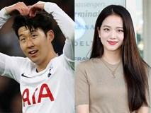 BLACKPINK Jisoo vướng tin đồn hẹn hò cầu thủ đắt giá nhất Châu Á Son Heung Min