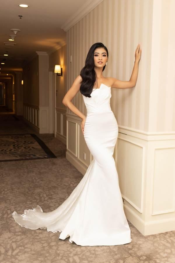 Top 3 Miss World Việt Nam tiếp tục 'đốt mắt' fan với đường cong nuột nà-10
