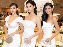 Top 3 Miss World Việt Nam tiếp tục 'đốt mắt' fan với đường cong nuột nà