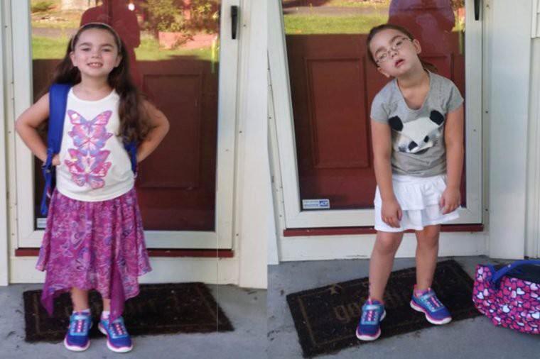 Những hình ảnh khó đỡ của con khi đi học chỉ có phụ huynh mới thấu hiểu: Mẹ mang mùa hè về đây đi-4