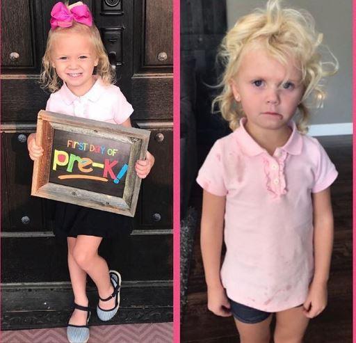 Những hình ảnh khó đỡ của con khi đi học chỉ có phụ huynh mới thấu hiểu: Mẹ mang mùa hè về đây đi-11