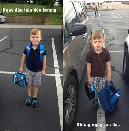 Những hình ảnh khó đỡ của con khi đi học chỉ có phụ huynh mới thấu hiểu: Mẹ mang mùa hè về đây đi-12