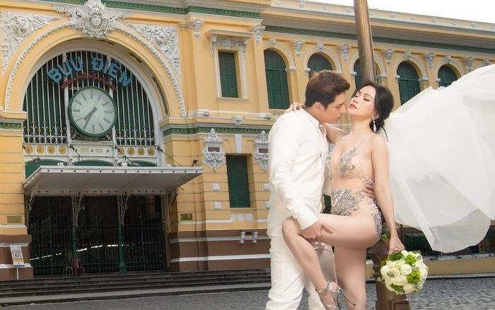 Mỹ nhân cao 1,55m sexy nhất showbiz Việt sự nghiệp mờ nhạt, mặc hở hang, nhiều tai tiếng-4