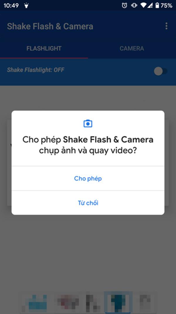 Mẹo lắc điện thoại để bật nhanh đèn pin hoặc máy ảnh trên Android-2