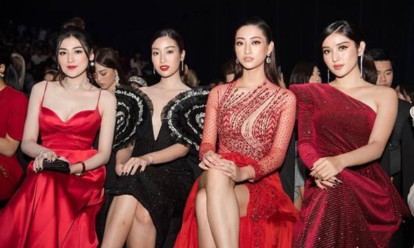 Hoa hậu Lương Thuỳ Linh diện váy xuyên thấu gợi cảm, tự tin đọ sắc các đàn chị-12