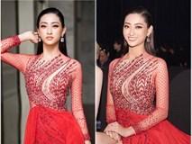 Hoa hậu Lương Thuỳ Linh diện váy xuyên thấu gợi cảm, tự tin đọ sắc các đàn chị