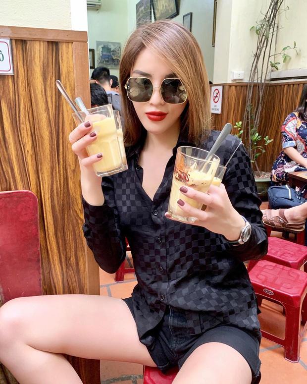 """Ra Hà Nội lần 2 trong mùa thu, Kỳ Duyên phục thù"""" ăn bằng được đặc sản này đúng kiểu rồi mới an tâm về Sài Gòn-1"""