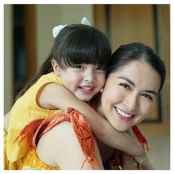 Nhan sắc con gái 'mỹ nhân đẹp nhất Philippines' khiến nhiều người tan chảy-1