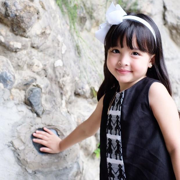 Nhan sắc con gái 'mỹ nhân đẹp nhất Philippines' khiến nhiều người tan chảy-9